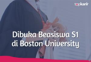 Dibuka Beasiswa S1 di Boston University   TopKarir.com