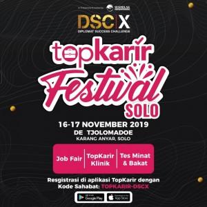 TopKarir Festival Solo 2019 X DSCX | TopKarir.com