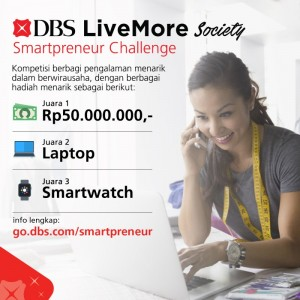 DBS Live More Society Smartpreneur Challenge | TopKarir.com